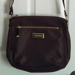 Brown Calvin Klein Crossbody Messenger Bag